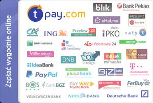 Zapłać wygodnie online za pomocą szybkich płatności Transferuj.pl